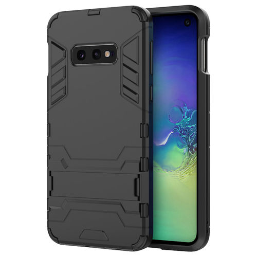 Slim Armour Tough Shockproof Case for Samsung Galaxy S10e - Black